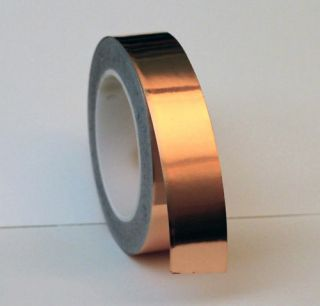 1ft Adhesive Copper Foil Tape EMI Shield Luthier Guitar