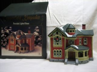 COPPERFIELD KEEPSAKE COUNTRY LARGE MANSION CHRISTMAS VILLAGE