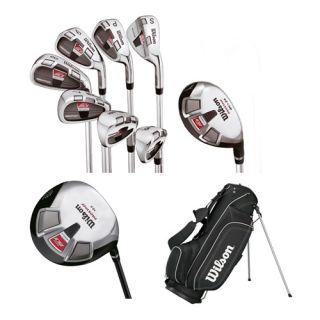 Moi 2012 Complete Golf Club Set Bag Mens Right Hand Golf Clubs