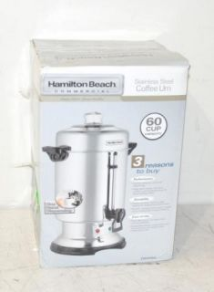 Beach D50065 Commercial Stainless Steel 60 Cup Coffee Urn New