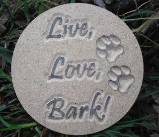 Dog Plastic Concrete Plaster Mold Pet Dog Mould Molds