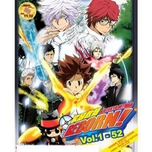 Katekyo Hitman Reborn Complete TV Series DVD 5 Box Set 1 203 Episode