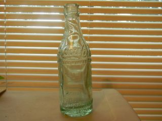 Cordele GA Straight Side Light Green Coca Cola Bottle SS