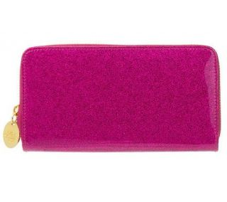 Kirks Folly Glitter Goddess Zippered Wallet —