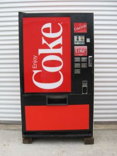 Coke Pepsi Vendo Dixie Narco Soda Vending Machine