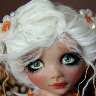 OOAK Fairy Fantasy Art Doll Ava By Esmeralda Gonzalez (DOLL TEARS