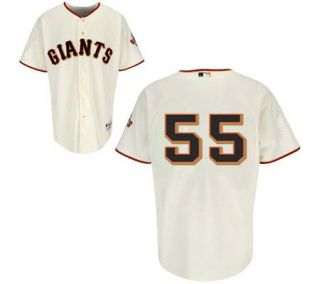 MLB San Francisco Giants Tim Lincecum Home Jersey —