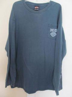 Highway 101 Harley Davidson Coos Bay or Long Sleeve T Shirt Tee 3XL