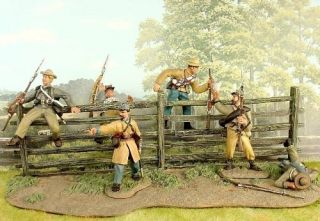 CONTE COLLECTIBLES AMERICAN CIVIL WAR 57112 CONFEDERATE ANTIETAM