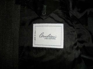 CORNELIANI Mens Gray Pinstripe Blazer 46 Long Wool Cashmere 46L Suit