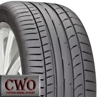 New 285 30 19 Continental Sport Contact 5P Tires 30R R19 30ZR ZR19