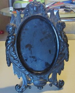 The Best Antique Gutta Percha Picture Frame of Matched Pair