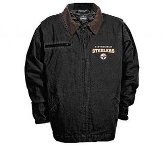NFL Pittsburgh Steelers Big & Tall Tradesman Jacket —