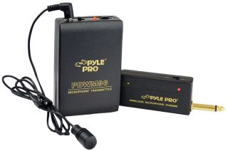PYLE PDWM96 NEW WIRELESS MICROPHONE SYSTEM W/ BATTERIES AND RECIEVER