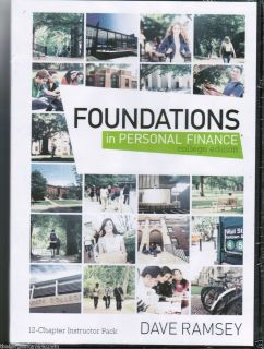 NEW 6 DVD COLLEGE EDITION DAVE RAMSEY FOUNDATIONS IN PERSONAL FINANCE
