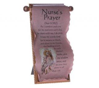 Nurses Prayer Scroll by Catherine Galasso —