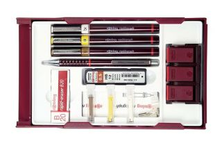 Rotring Rapidograph College Set Technical Drawing Pens