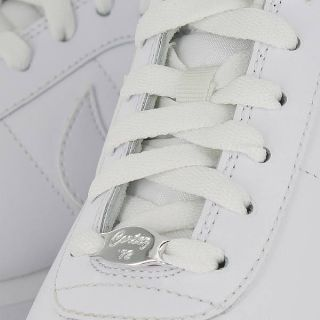 Nike Wmns Cortez Leather White White Grey Womens US Size 7 5 UK 5
