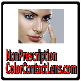 Non Prescription Color Contact Lens com EYE CONTACTS LENSES COLORED