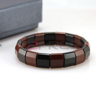 New Power Ionics Health ion Tourmaline Beads Stretch Bracelet