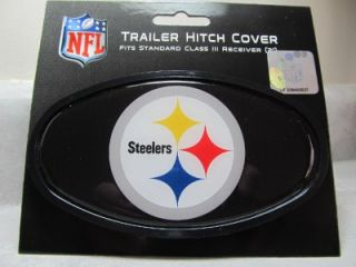 Pittsburgh Steelers Logo Trailer Hitch Cover Class 3 NFL Licensed 2