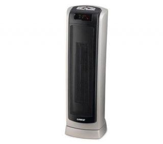 Lasko 5521 Oscillating Ceramic Tower Heater w/Rmote Control   H149044