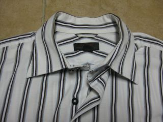 Express Premium Woven Cloth Cotton Shirt Mens Medium M