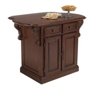 Home Styles Traditions Kitchen Island —
