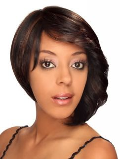 Pride by Zury Synthetic Hair Wig Short Wavy Bob Style