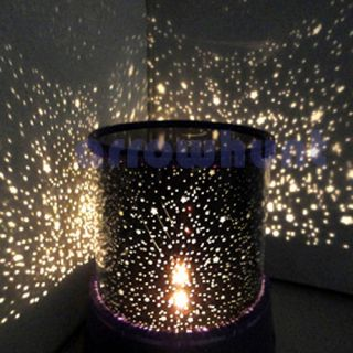 Romantic Cosmos Sky Star Master Starry Night Projector Light Lamp