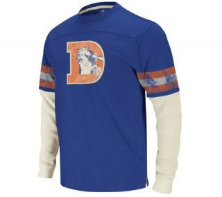 NFL Denver Broncos Jersey & Thermal Long SleeveT Shirt —