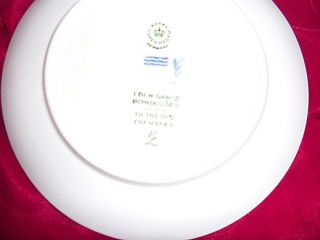 Vintage Royal Copenhagen Denmark (1969) Annual Christmas Plate In