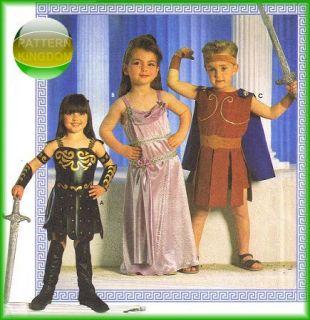 childrens xena warrior princess costume patterns rare