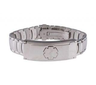 As IsLisa Jenks Stainless Steel Medical ID Bracelet Small —