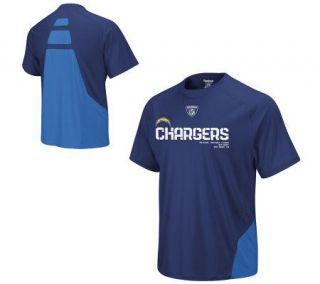 NFL San Diego Chargers Performance Short SleeveT Shirt —