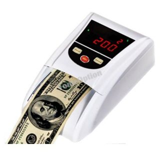 Portable Automatic Bill Money Counterfeit Detector Counter
