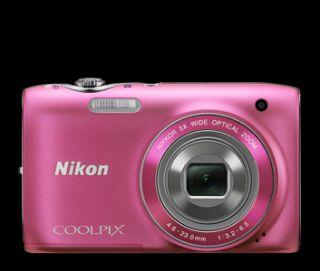 Nikon Coolpix S3100 Digital Camera Bundle Pink 4GB Memory Card Case