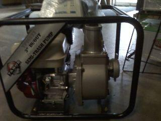 Brand New 3 Industrial Trash Water Pump