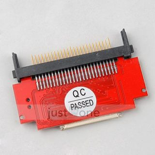Compact Flash CF Card to 1 8 ZIF Hard Disk Adapter Converter Card F