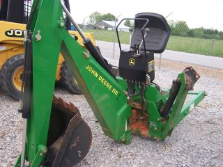 GOOD BOBCAT 607 BACKHOE ATTACHMENT, SKID STEER LOADER QUICK