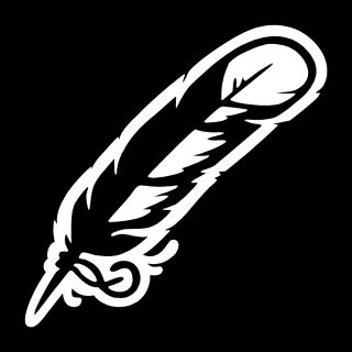 Native American Feather Vinyl Vehicle Decal Sticker