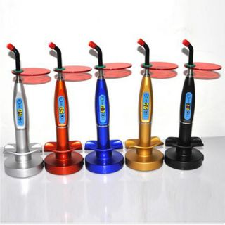 One New Style Cordless Dental LED Lamp Wireless Curing Light 1500mw
