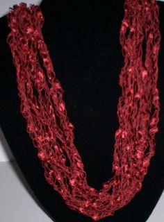 Trellis Ladder Yarn Necklace Copper Penny Buy 3 Get one Free