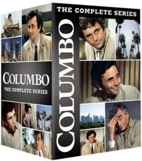 Columbo Complete Series Season 1 2 3 4 5 6 7 All 24 TV Movies 34 DVDs