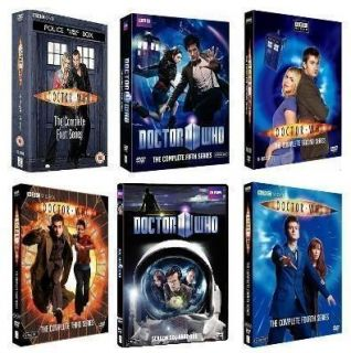 Who 1 6 Complete Seasons 1 2 3 4 5 6 Dr Who Complete Series