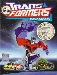 Transformers Animated Complete Season 1 2 DVD Box Set