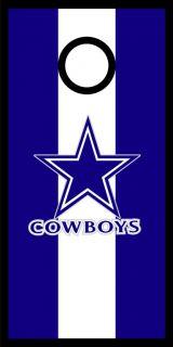 Dallas Cowboys Cornhole Bag Toss Game Wrap Graphic Decal Set