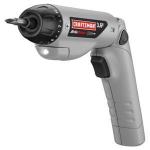 craftsman 3 6 volt cordless 1 4 screwdriver bit set 11139 brand new