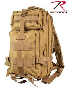 Medium Transport Pack Travel Bag Backpack Blk Tan OD NW