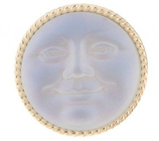 Kirks Folly Seaview Moon Fantasy Pin/Pendant —